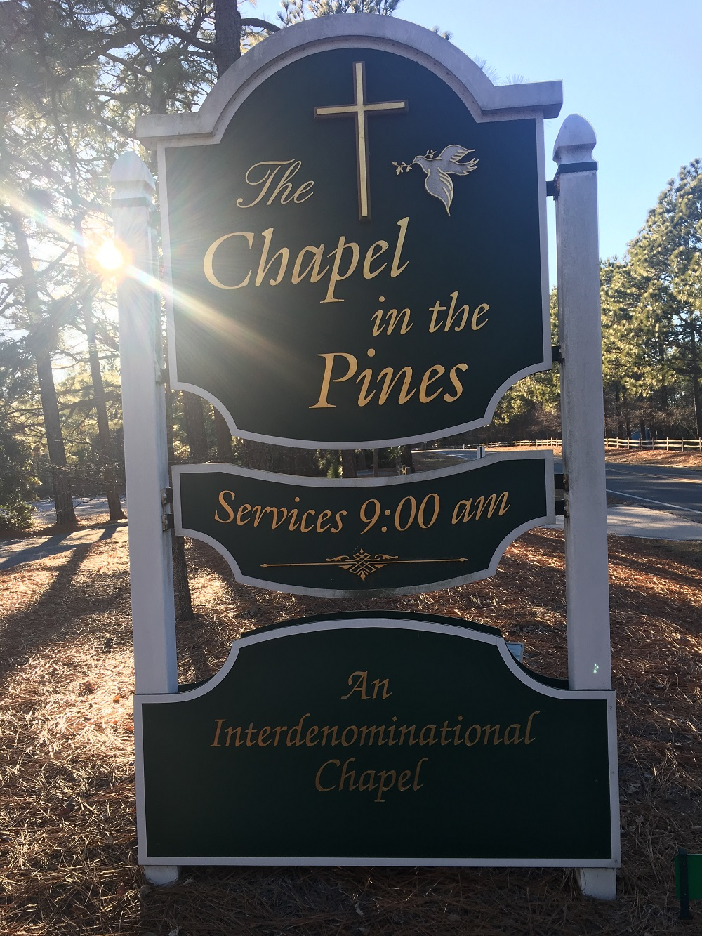 Seven Lakes Chapel in the Pines