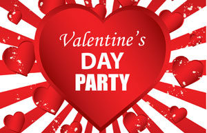 Lunch Bunch Valentine Party @ J Hall